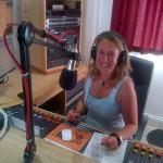 Angela in studio