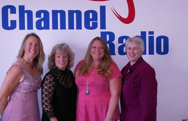 Photo of Angela, Elaine, Melanie and Jan